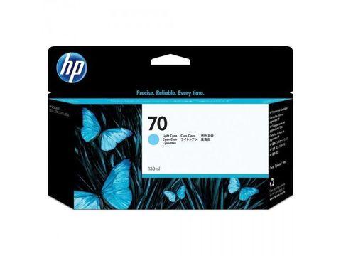 Картридж HP №70 для DesignJet Z3100, Z2100, голубой. Ресурс 800 страниц (C9390A)