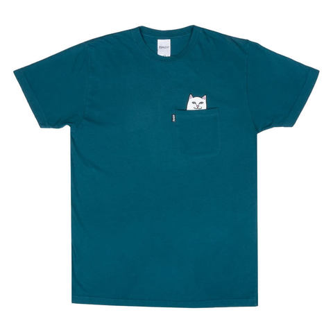 Футболка RIPNDIP Lord Nermal Pocket Tee (Aqua)