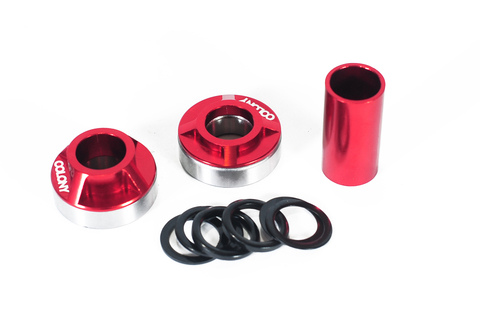 BMX Каретка Colony MID BB Kit 19mm Red