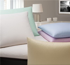 Наволочка 50x70 Elegante Monochrome розовая