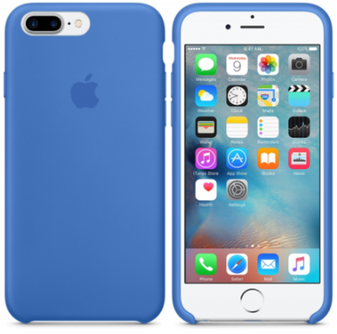iPhone 7Plus/8Plus Silicone Case Синий