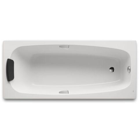 Ванна акриловая прямоугольная Sureste 1700х700х450 Roca с монтажным комплектом ZRU9302769