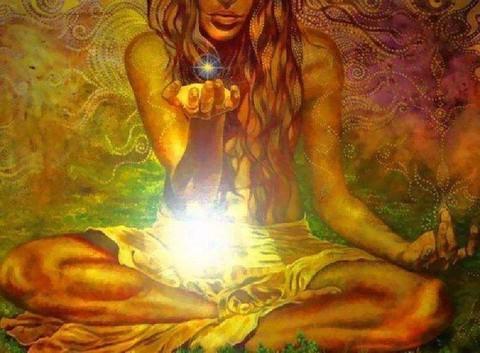 Свеча магическая