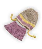 Шапка и шарф - Сиреневый. Одежда для кукол, пупсов и мягких игрушек.