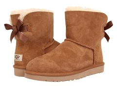 UGG Bailey Bow Mini Chestnut