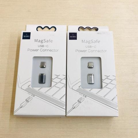 Переходник adapter USB-C MagSafe Wiwu Power magnet /siver/ GT911