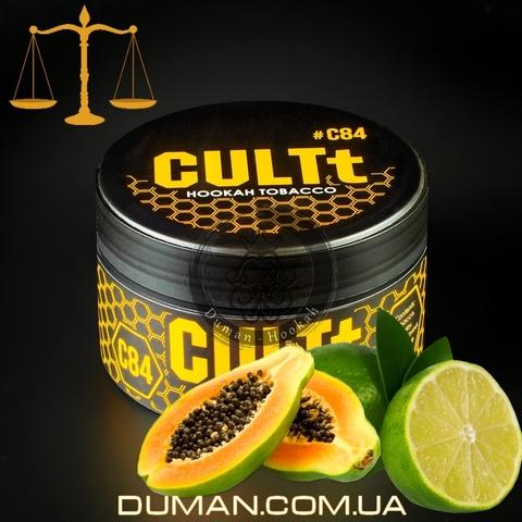 Табак CULTt C84 Papaya Lime (Культ Папайя Лайм) |25г