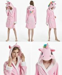 Халат Кигуруми розовый