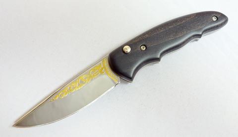 Нож складной титановый