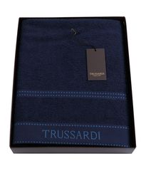 Полотенце 100х150 Trussardi Ribbon Blue