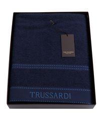 Полотенце 100х150 Trussardi Ribbon Blue