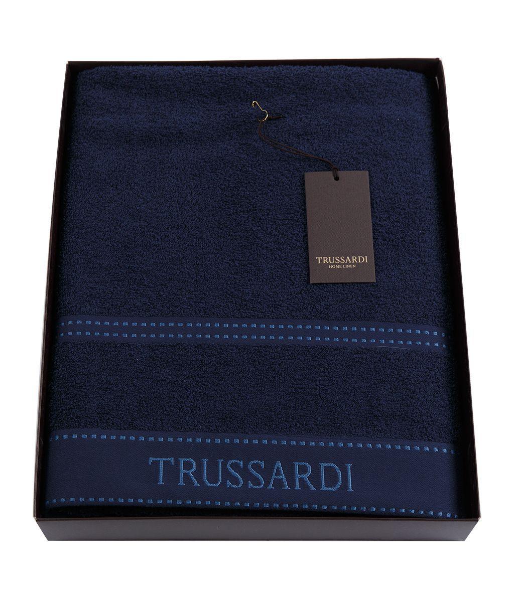 Полотенца Полотенце 100х150 Trussardi Ribbon Blue polotentse-100h150-trussardi-ribbon-blue-italiya.jpg