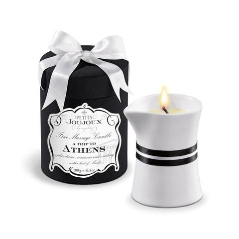 Массажная свеча Petits Joujoux с ароматом мускуса и пачули (190 гр)