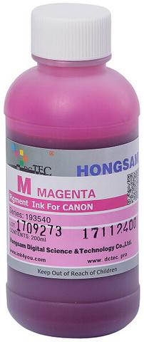 Чернила DCTec PFI-1700M малиновый (magenta). 200мл пигмент (193540)