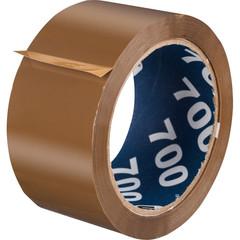 Клейкая лента упаковочная UNIBOB 700 50мм х 66м 47мкм коричневая