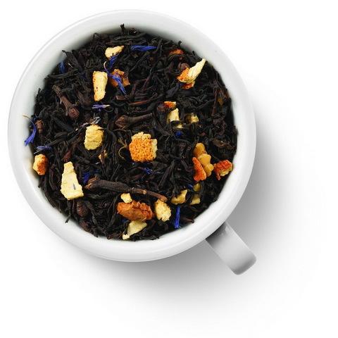 Рождественский 100 гр. Чай Gutenberg черный ароматизированный