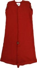 Спальный мешок для новорожденных,  0-3/4 мес (44-56/62 см), Бордовый (шерсть мериноса 100%)