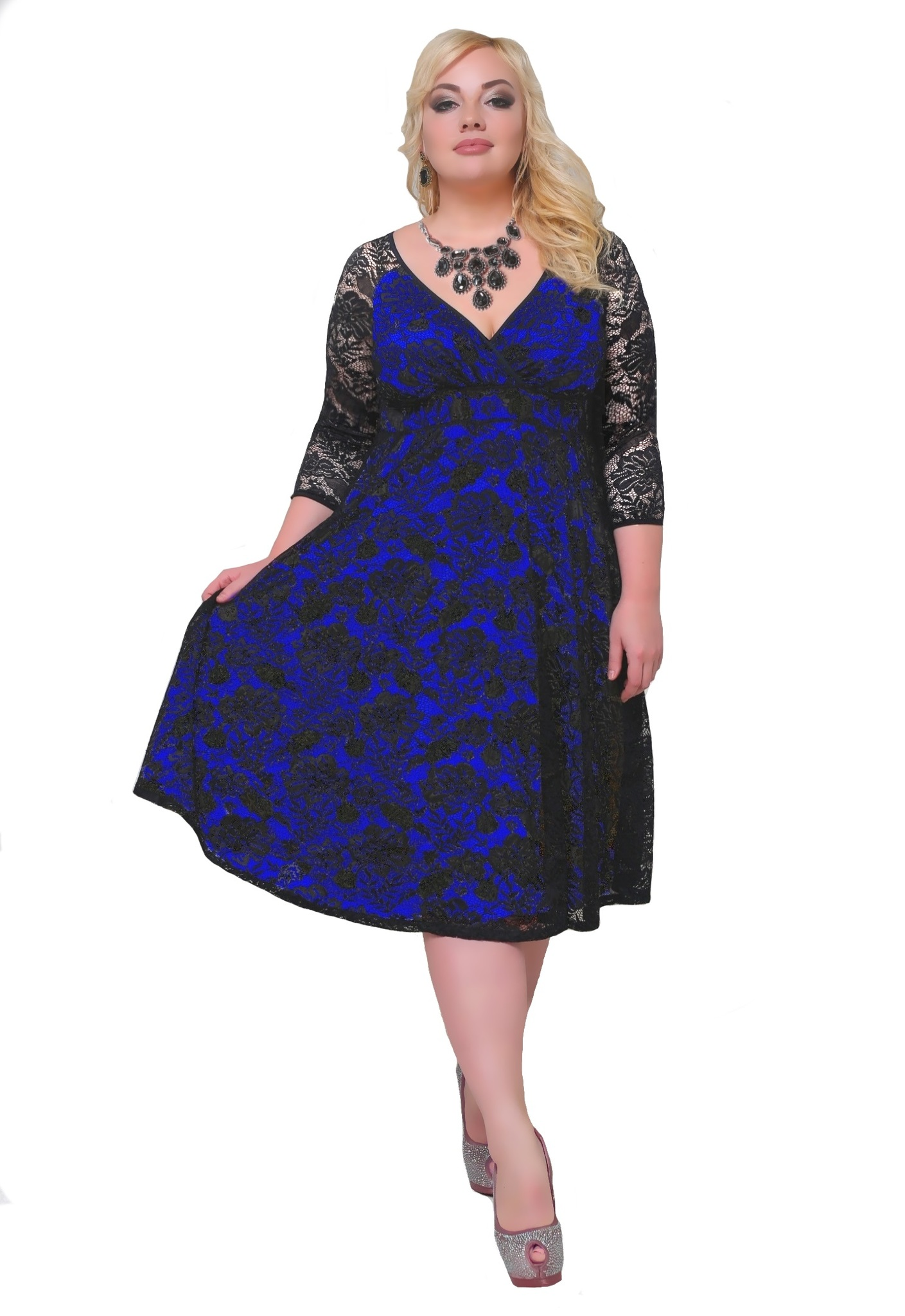 Платье 17-014
