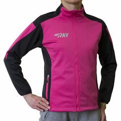 Утепленная лыжная куртка Ray Race WS Fuchsia-Black женская