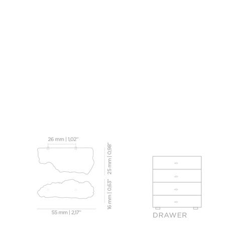 Мебельная ручка PullCast KESYA EA1017