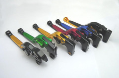 Складные рычаги тормоза/сцепления для мотоциклов Aprilia Титановый