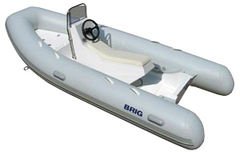 Лодка РИБ с жестким дном BRIG F400S
