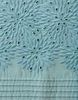 Постельное белье 1.5 спальное Bovi Флер голубое