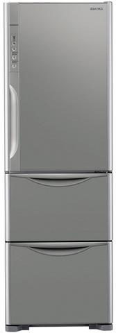 Холодильник с нижней морозильной камерой Hitachi R-SG38 FPU INX