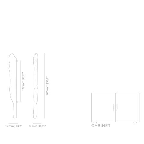Мебельная ручка PullCast KESYA EA1008