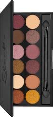 Тени для век в палетке Sleek MakeUP  I-Divine  Eyeshadow Palette - 3am (12 тонов)