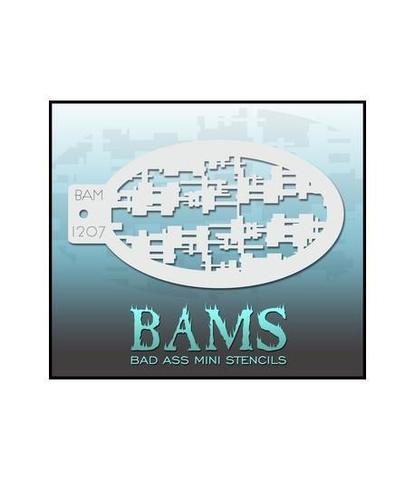 Трафарет BAMS 1207