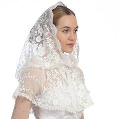 платок белый на Венчание