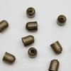 Концевик для шнура 3,5 мм, 5х4 мм (цвет - античная бронза), 10 штук