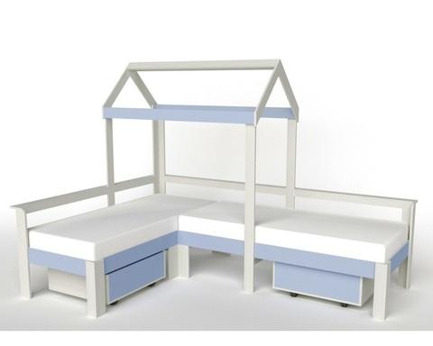 Кровать-домик АВАРА-1 с ящиками