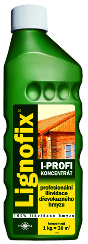 Инсектицидный препарат для древесины Lignofix I-Profi, концентрат