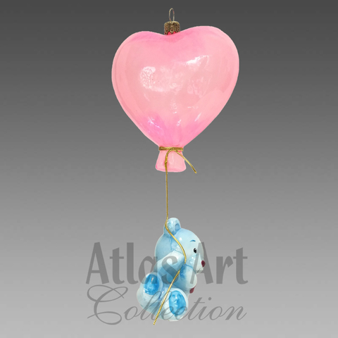 Воздушное сердце Мишутки