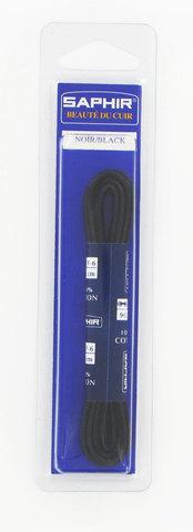 Шнурки Круглые Тонкие с Пропиткой  60см.  (2 цвета)  Saphir