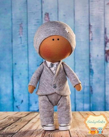 Кукла мальчик Алан. Коллекция La Petite.