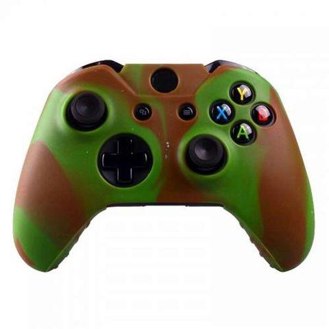Xbox One Чехол для геймпада (камуфляж серо-коричневый)