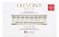 Лосьон для стимуляции роста волос для мужчин №10, 1300 (Labo | Crescina Re-Growth HFSC 100% 1300), 10 х 3,5 мл