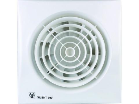 Вентилятор накладной S&P Silent 300 CHZ Plus (таймер, датчик влажности)