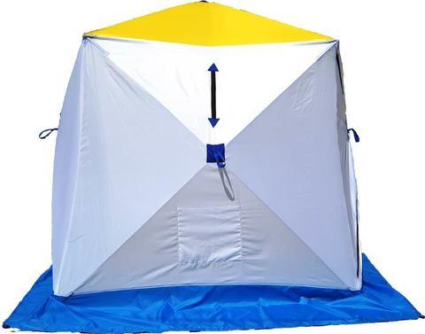 Палатка зимняя СТЭК КУБ-1 трехслойная (дышащий верх)