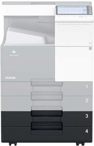 Konica Minolta PC-214 Тумба с кассетами 2х500 листов для bizhub C227 (A860WY2)