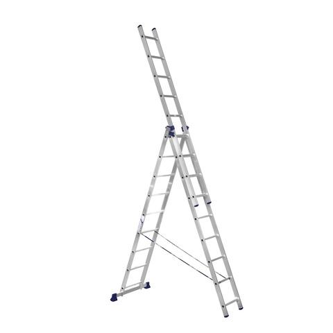 Лестница трехсекционная