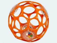 Oball Мячик «Гремящий Oball» (цвета в ассортименте) (81031)
