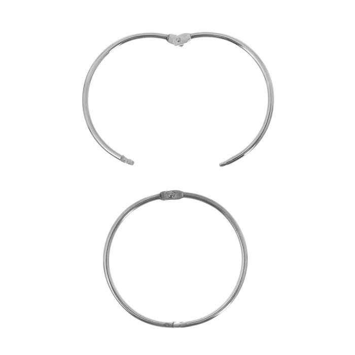 Кольца разъемные для альбомов БОЛЬШИЕ 63 мм, 2 шт.