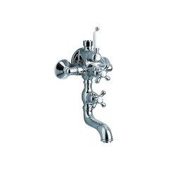Смеситель термостатический для ванны с душевым комплектом и изливом GAUDI 3048