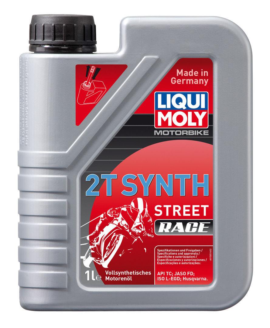 Liqui Moly Motorbike 2T Synth Street Race Синтетическое моторное масло для 2-тактных мотоциклов