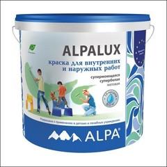 Краска в/д для стен и потолков ALPA Alpalux (Белый)