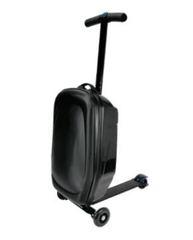 чемодан самокат черный
